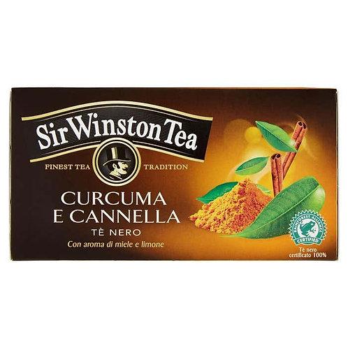 SIR WINSTON TEA TE' NERO CURCUMA e CANNELLA