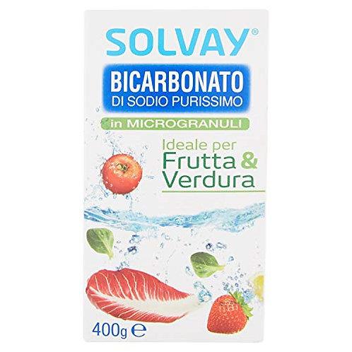 SOLVAY Bicarbonato Frutta e Verdura Microgranulare 400 GR