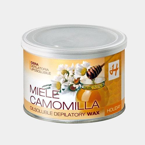 Cera Depilatoria Liposolubile Miele e Camomilla 400 ml
