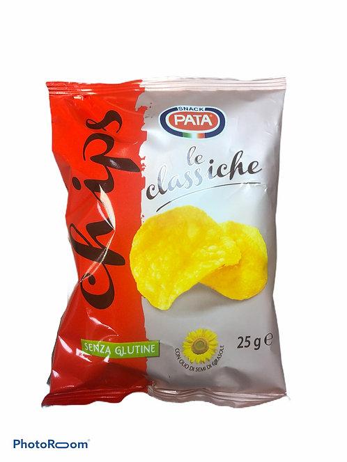 PATATINE CLASSICHE  PATA CHIPS 25 gr