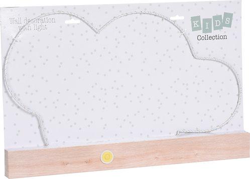 Nuvola Decorativa con luci per Cameretta Bambini modelli ass