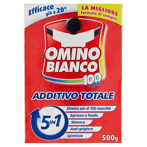 Omino Bianco Additivo Igienizzante Bucato Lavatrice 5 in 1