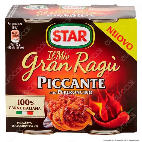 Sugo Gran Ragù Star Piccante  180 gr. x 2 Peperoncino