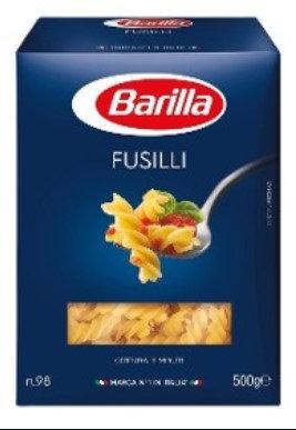 pasta FUSILLI barilla 500gr