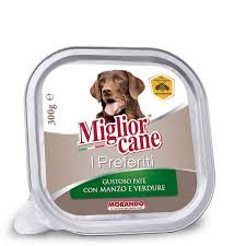 MIGLIOR CANE preferiti PATE' manzo/verdure GR300