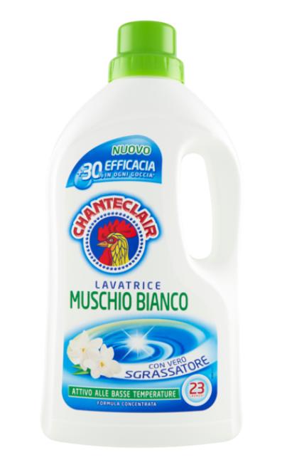 CHANTECLAIR detersivo lavatrice MUSCHIO BIANCO LV 23
