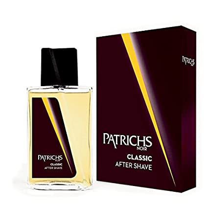 Patrichs Noir Classic Dopo Barba After Shave 75ml