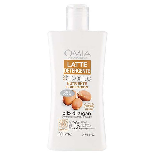 OMIA Latte detergente Viso Argan 200 ML