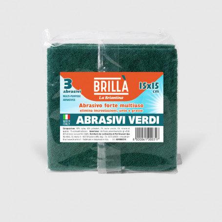 ABRASIVI VERDI 3 PZ. CM.15X15