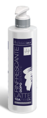 LATTE RINFRESCANTE POST DEPILAZIONE con TEA TREE OIL 500 ML