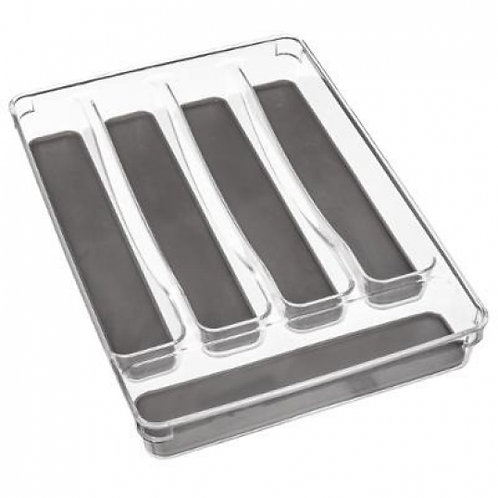Portaposate da cassetto trasparente  5 posti 32.5x4.5 cm
