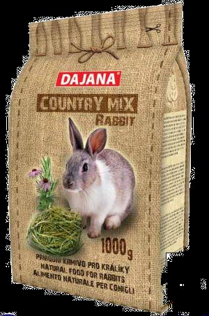 Country mix conigli adulti  kg.1 coniglietti