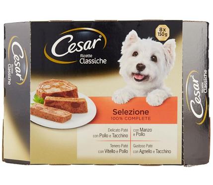 CESAR ricette CLASSICHE GR150X8