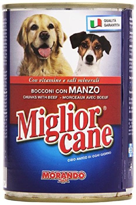 CIBO MIGLIOR CANE BOCCONI MANZO GR 400