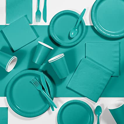 Coordinato Party Color CARRIBEAN TEAL