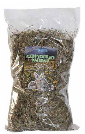 Fieno ventilato naturale confezione 500 gr lettiera