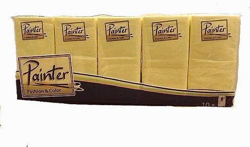 Box Fazzoletti di Carta Painter Fashion Color 4 veli x 10 Pacchetti