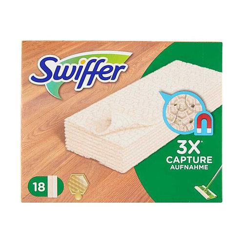 Swiffer Ricarica 18 Panni Cattura polvere  Legno & Parquet