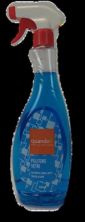QUANDO E' PULITORE VETRI SPRAY 750 ML