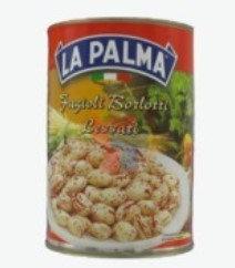 400 gr LA PALMA Fagioli Borlotti