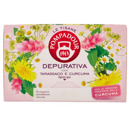 POMPADOUR tisana DEPURATIVA PZ18