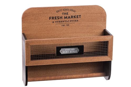 Mensola Dispensa Cucina in legno MDF e metallo