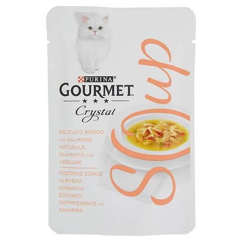 GOURMET SOUP -Brodo con Salmone e Verdure 40 gr