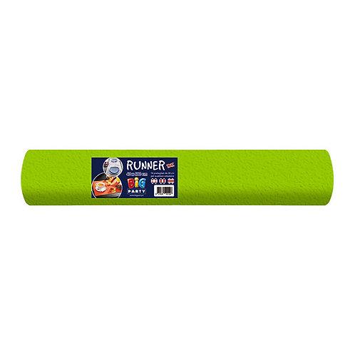 Runner in tnt 40 cm x 5 m Verde Acido