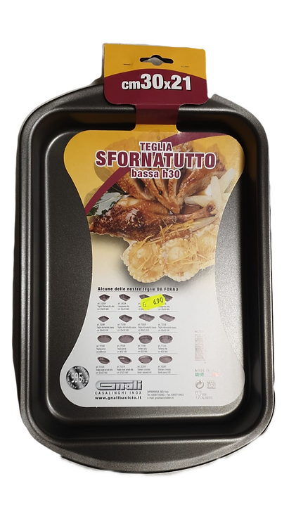 SFORNATUTTO - TEGLIA 30X21 H3 cm