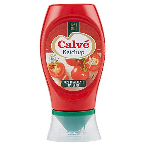 Calvé Ketchup 250 ml Top Down
