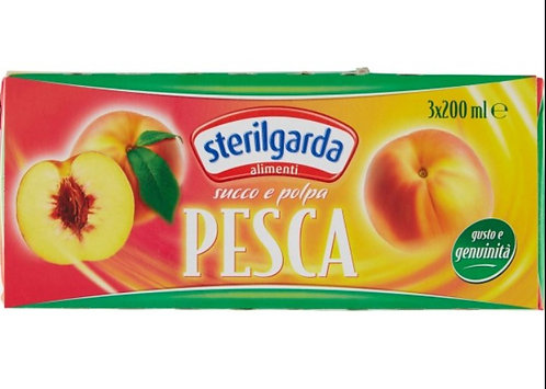 succo di frutta tripack PESCA sterilgarda 3x200ml
