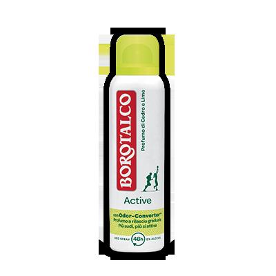 BOROTALCO DEODORANTE SPRAY ACTIVE CEDRO 150 ML