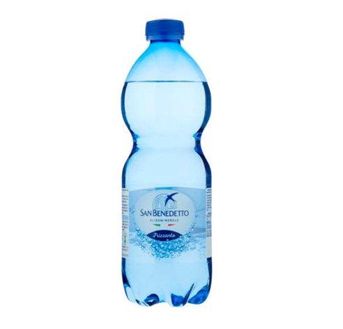 acqua FRIZZANTE san benedetto 500ml