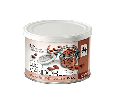 Cera Depilatoria Liposolubile Olio di Mandorle Dolci 400 ML