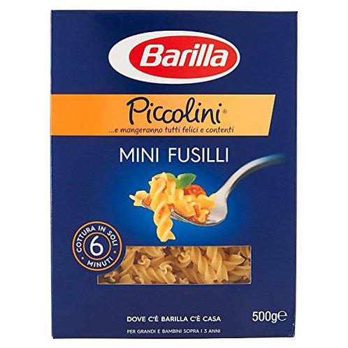 Pasta Barilla Mini  FUSILLI I Piccolini  500 gr