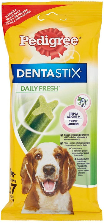 PEDIGREE DENTASTIX FRESH MEDIUM 10-25 kg. 7 Pz.