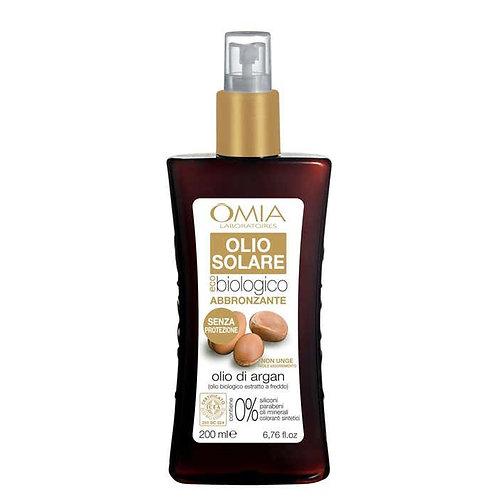 Olio Solare OMIA Abbronzante Spray 200 ml Senza Protezione