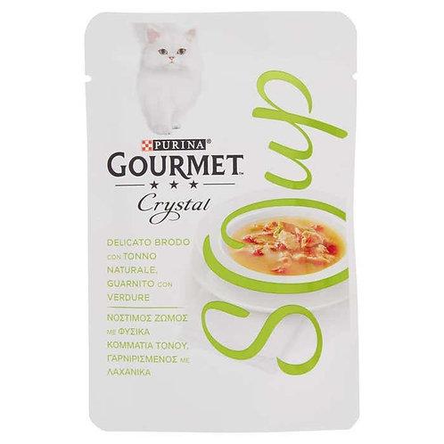 GOURMET SOUP -Brodo con Tonno e Verdure 40 gr