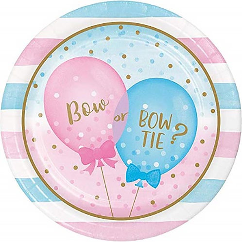8 PIATTI IN CARTA PARTY BABY SHOWER  22cm