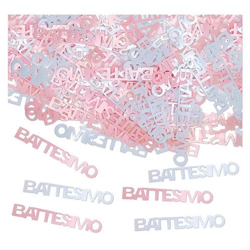 Confetti gr.15 Battesimo Rosa