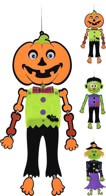 Decorazione Casa Halloween Mostro da Appendere 60 cm