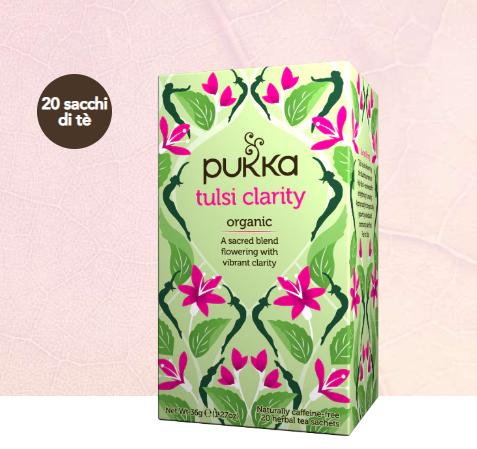 PUKKA tea TULSI CLARITY