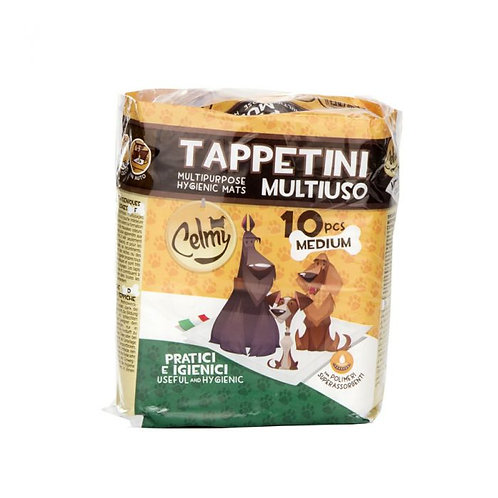 tappetini igienici animali MEDIUM 60x60 10pz