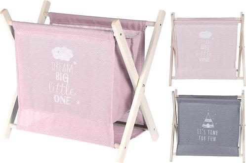 Porta oggetti e riviste in Tessuto per Cameretta Bambini modelli ass