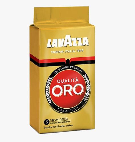 caffè macinato qualità ORO lavazza 250gr