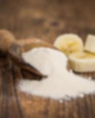 Bananenmehl roh