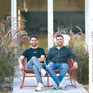 Artlist founders for G magazine, Globes.
