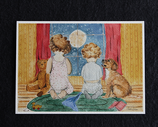 Wishing on Stars Watercolor Prints