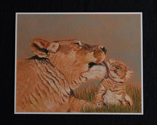 Safari Bath Pastel Prints