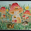 Thumbnail: Mushroom Village Watercolor Prints